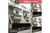 Rumah Duri Kepa, Jakarta Barat, 4,5x13,2m, 3 Lt, SHM