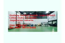 Jual Gudang plus kantor. Lokasi Jagakarsa Jakarta Selatan