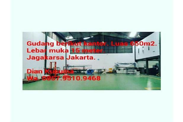 Jual Gudang plus kantor. Lokasi Jagakarsa Jakarta Selatan 13244820