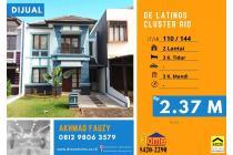Dijual cepat rumah di Delatinos BSD