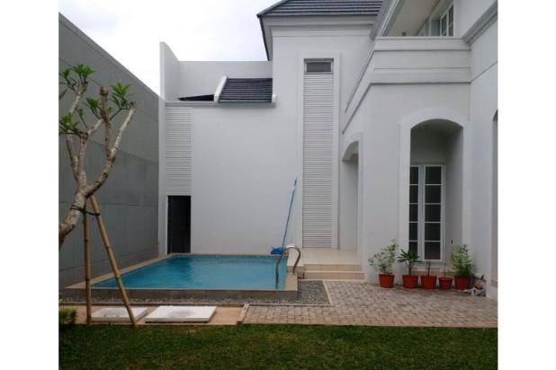 rumah mewah de maja bsd rumah dengan kolam renang pribadi