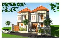 Rumah Lantai 2 super Mewah On Progress Renon Denpasar Bali