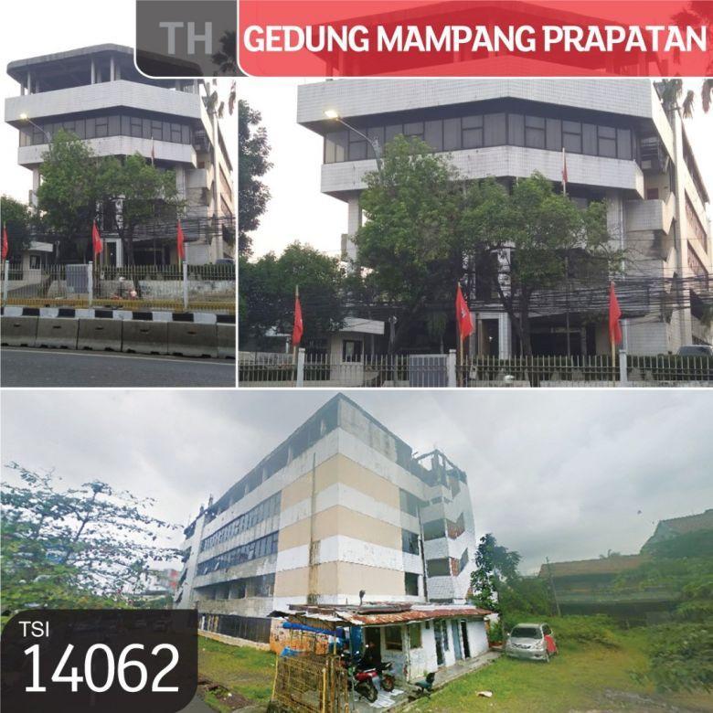 Gedung Mampang Prapatan, Jakarta Selatan, 1838 m², 4 Lt, HGB