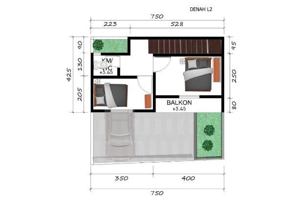 Rp715jt Rumah Dijual