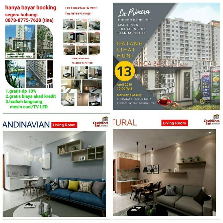 dijual apartemen Jakarta Casablanca east residences