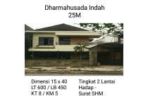 Rumah Dharmahusada Indah Surabaya 2 lantai nego