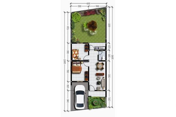 Beli Rumah DP 0 %: KPR, Harga Rp.300 Jt-an, di Duren Seribu 11486498