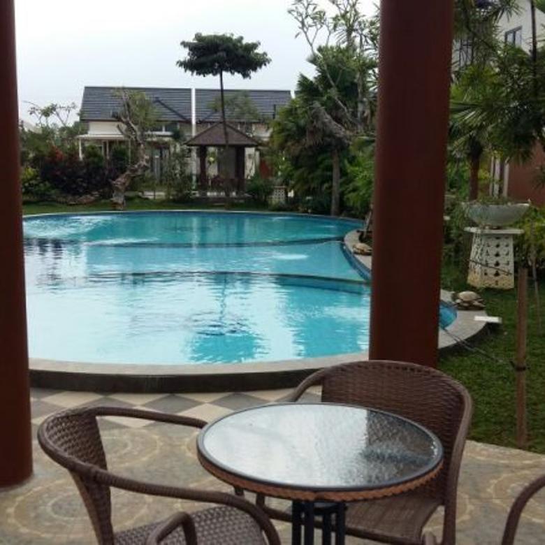 Dijual rumah siap huni Bali Resort, Gn. Sindur Cluster Delovin