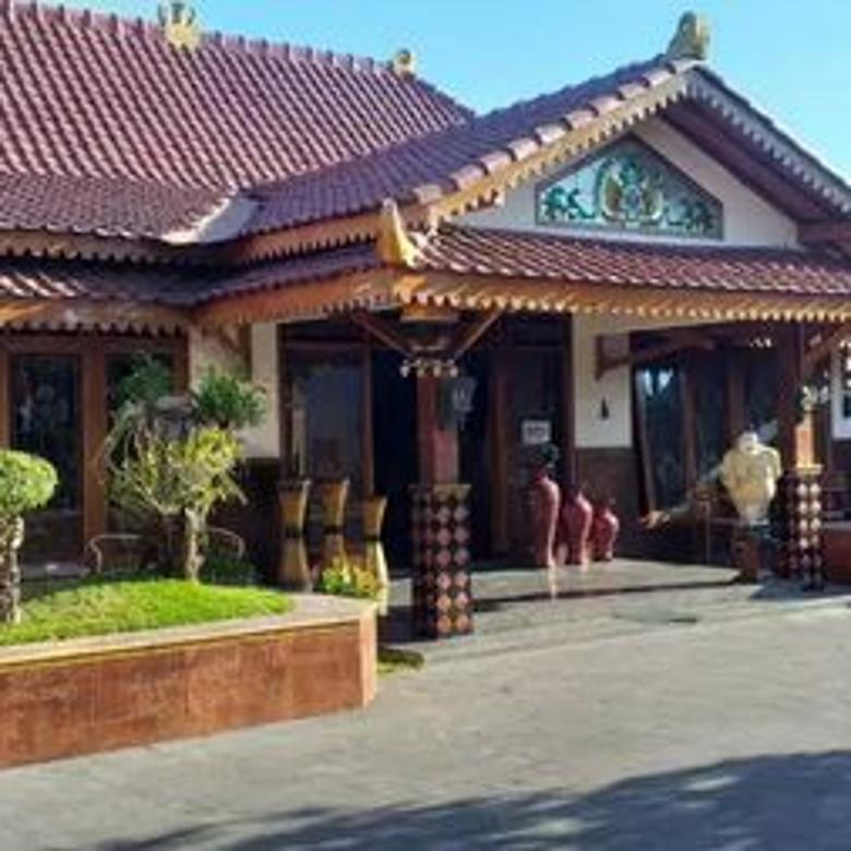 Rumah Jawa Etnik di tengah Kota strategis di lingkungan Kraton