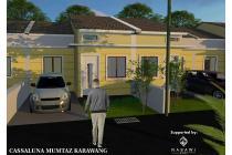 Rumah syariah murah tanpa dp cassaluna mumtaz karawang