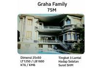 Rumah Graha Family Surabaya SHM bangunan mewah bagus murah SHM!!!