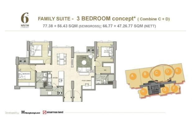 Rp4,32mily Apartemen Dijual