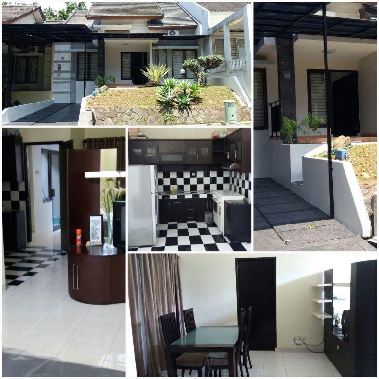 Rumah nyaman di tengah kota Bogor full furnist kondisi istimewa