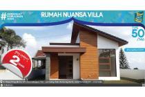 Dijual Rumah Nyaman Nuansa Villa di Sharia Islamic,