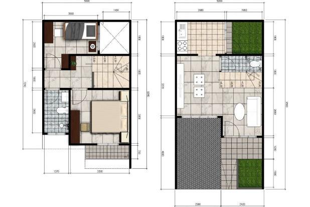 Rumah Baru dijual Murah dalam cluster di Cinere Delima Townhouse, Cinere 16355344