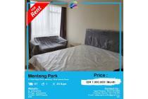 Disewakan Apartemen Menteng Park Full Furnished 1BR by Asik