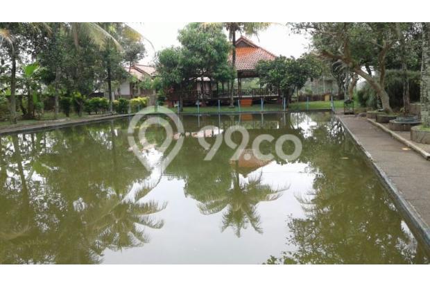 Dijual villa,kolam ikan dan gajebo jl.Cikeruh dekat Brimob Jatinangor 7855983