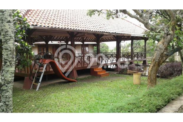 Dijual villa,kolam ikan dan gajebo jl.Cikeruh dekat Brimob Jatinangor 7855988