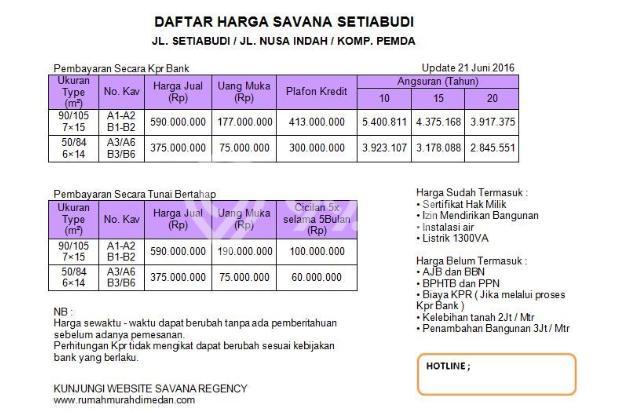 Miliki segera hunian paling murah,nyaman dan asri Savana Setia Budi 13425963
