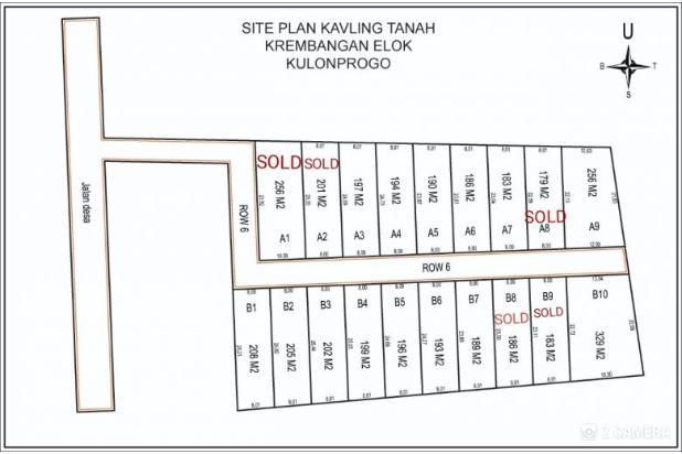 Rp184jt Tanah Dijual