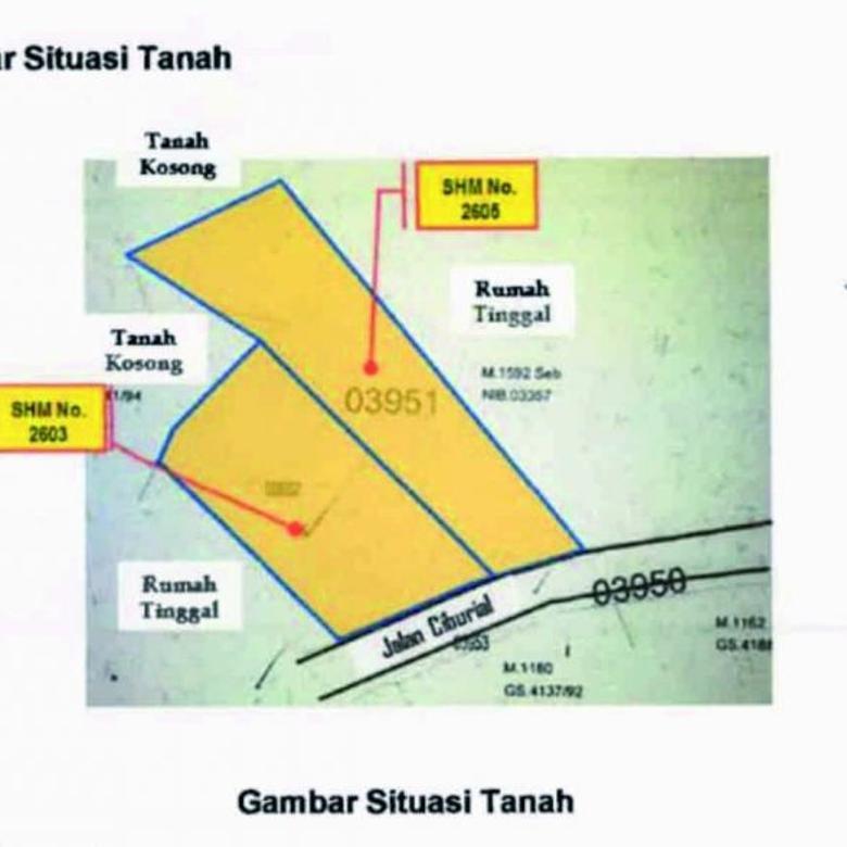 Dijual Tanah Siap Bangun Udara Sejuk di Dago Village, Bandung