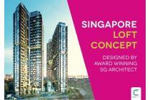 Apartemen Mewah Konsep Loft di Alam Sutera, Pengembang dari Singapura