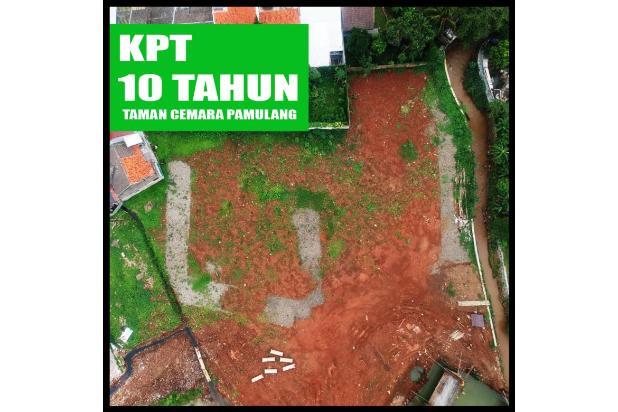 DP 40% Beli Kapling Perumahan di Taman Cemara Pamulang Lewat KPT Perbank 21840664