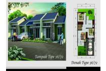 dijual rumah di Bandung baleendah, bebas banjir, hawa pegunungan, dp 9juta