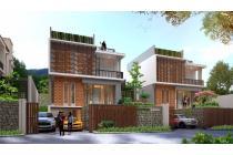 rumah minimalis semi villa, the orchard residence