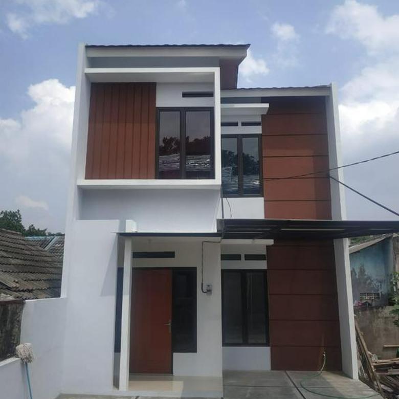 Rumah 2 Lantai Eksklusif Bekasi 15 Menit ke Tol Jatiasih