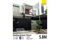 Rumah Bagus di Gading Kirana Timur, Kelapa Gading, Jakarta Ut