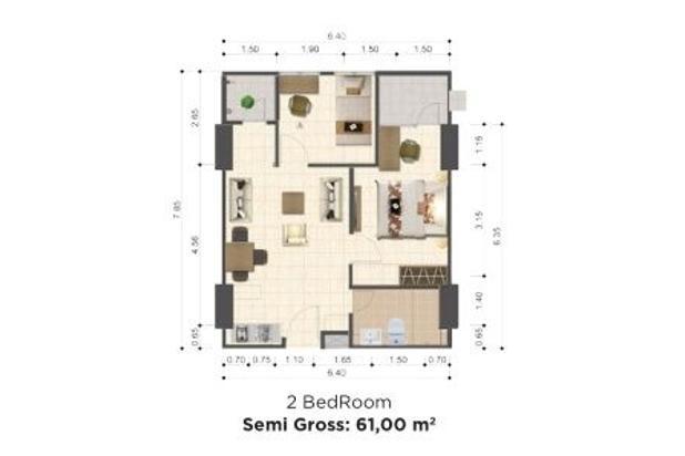 Rp548jt Apartemen Dijual