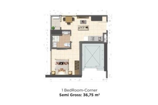 Rp558jt Apartemen Dijual