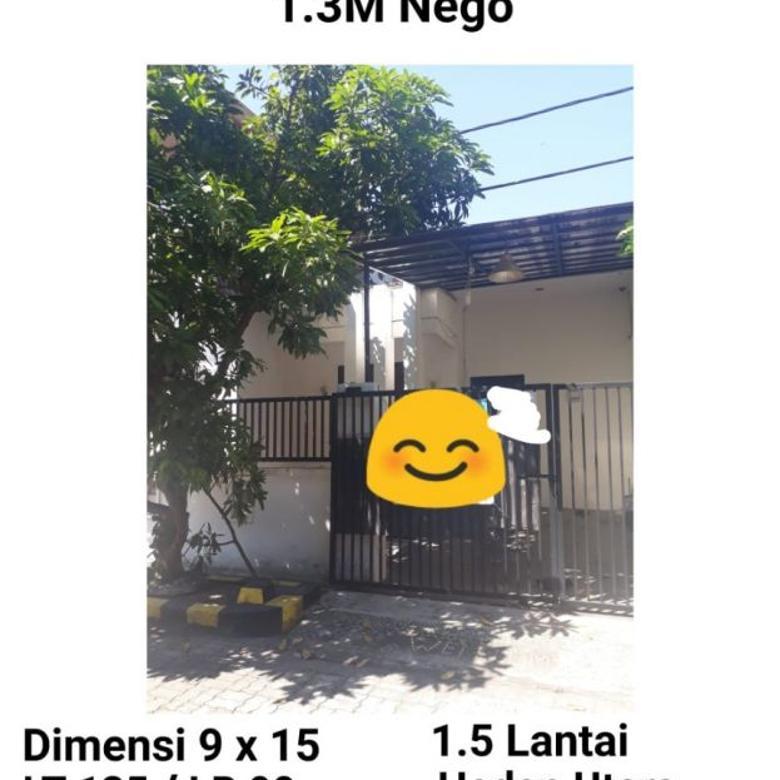 Rumah Wiguna Tengah Surabaya dekat Rungkut Siap Huni Nego