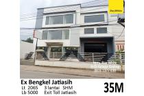 Jual Ruko ex bengkel/showroom di Jatiasih Bekasi.