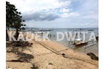 Tanah los pantai beach front tanjung benoa nusa dua
