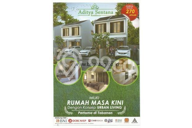 Dijual Rumah Baru Tipe 45 di Cempaka Putih Bali 15515843