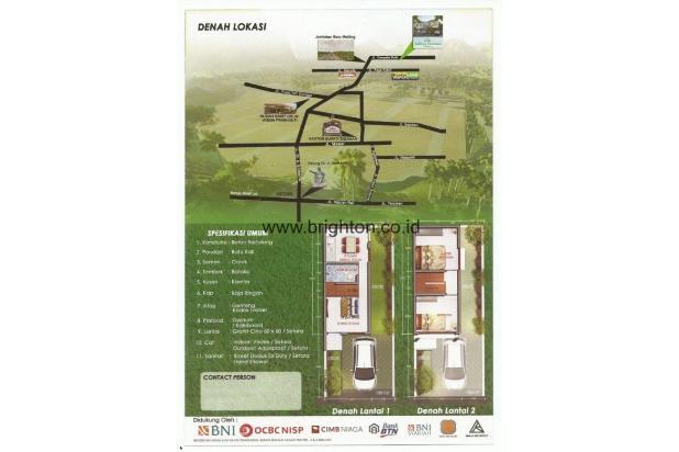 Dijual Rumah Baru Tipe 45 di Cempaka Putih Bali 15515844