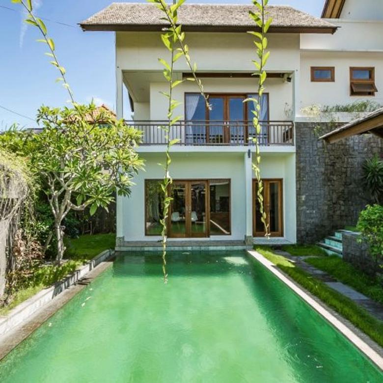 Villa minimalis di raya semat berawa canggu dlt fins beach