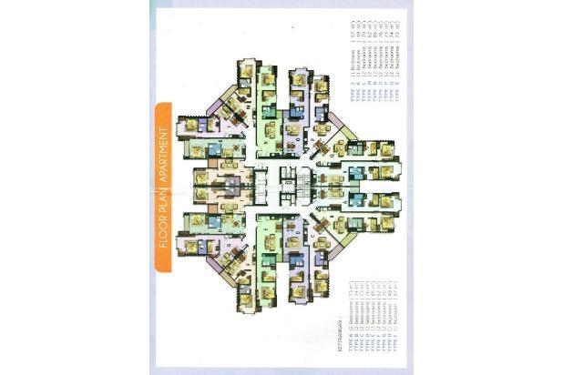Apartemen The Mansion Kemayoran Luas 31 m2 (Studio) 17326852