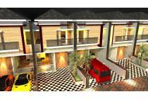 Rumah Indent 2 Lantai Modern Minimalis di Surabaya bisa KPR bebas banjir