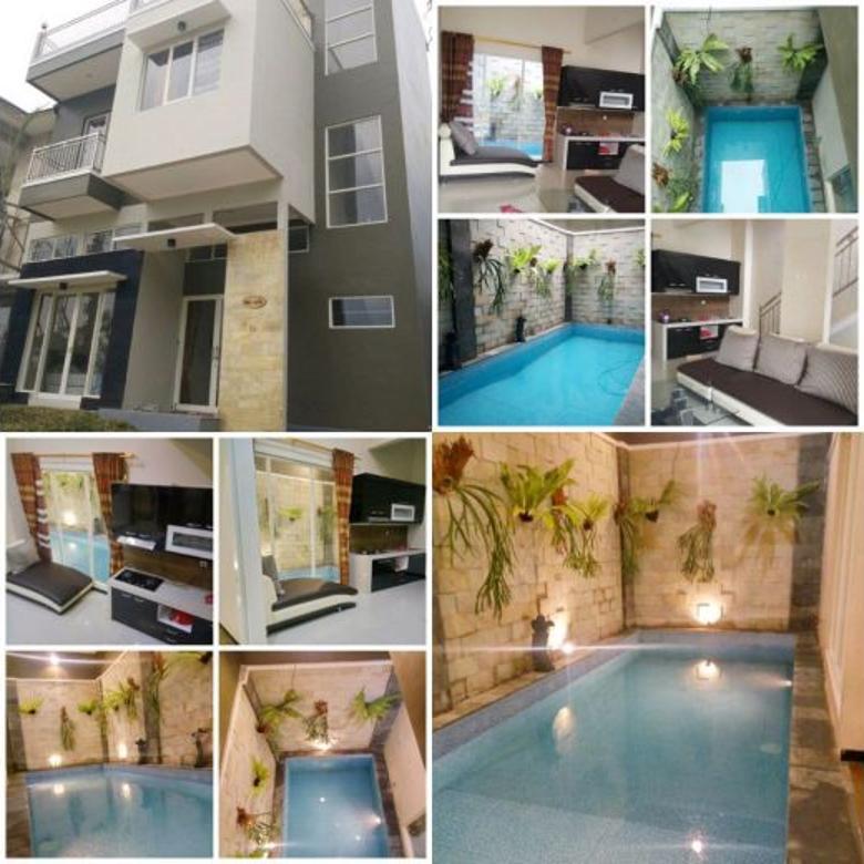 Villa view bagus ada kolam renang plus perabot segera dioperkan