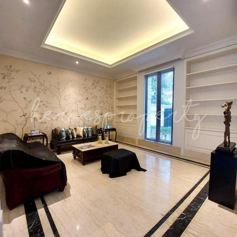 Kemang Rumah Super Mewah Brand New Desain Modern Klasik