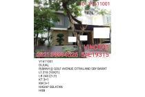 DIJUAL RUMAH MINIMALIS GOLF AVENUE CITRALAND SBY BARAT