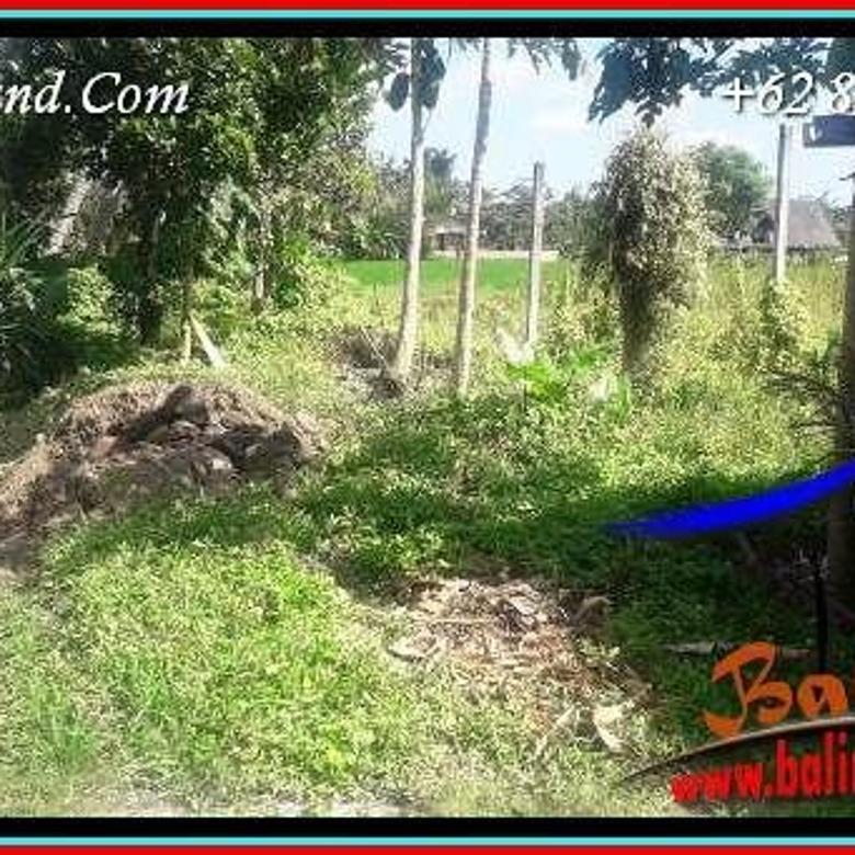 500 m2 with Rice field View in Sentral Ubud