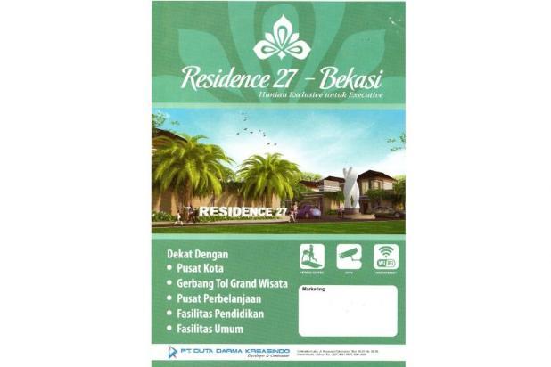 Cluster Residence 27 , BEBAS BANJIR, 8 MENIT dari TOL TAMBUN GRANDWISATA 8110275