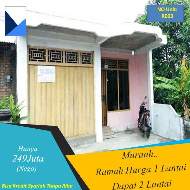 Rumah Dijual Di Padang Murah, Harga 1 Lantai Dapat 2 Lantai