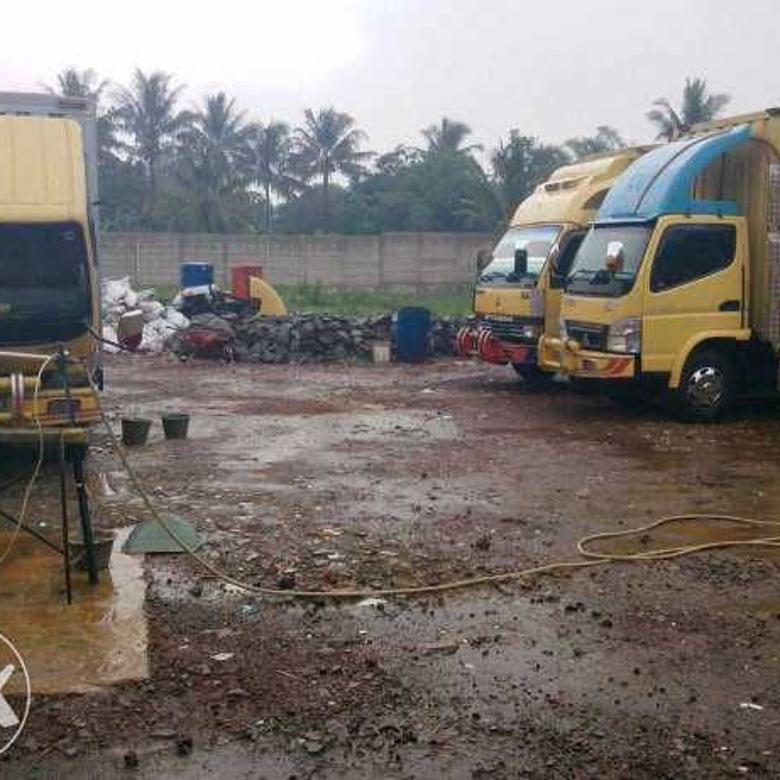 Tanah di bawah Pasaran di Cukang Galih Curug Tangerang