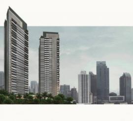 LaVie Suites @ Kuningan type 3 BRTower PORTE, Lantai Marmer & Semi Furnish