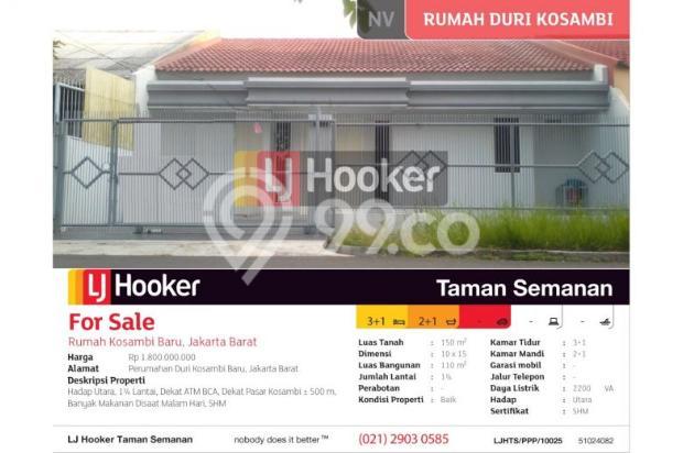 Rumah Kosambi Baru, Jakarta Barat, Brand New, 10x15m, 1¼ Lt 5201137